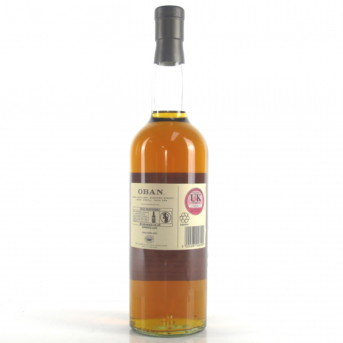 Oban Cask Strength Distillery Exclusive