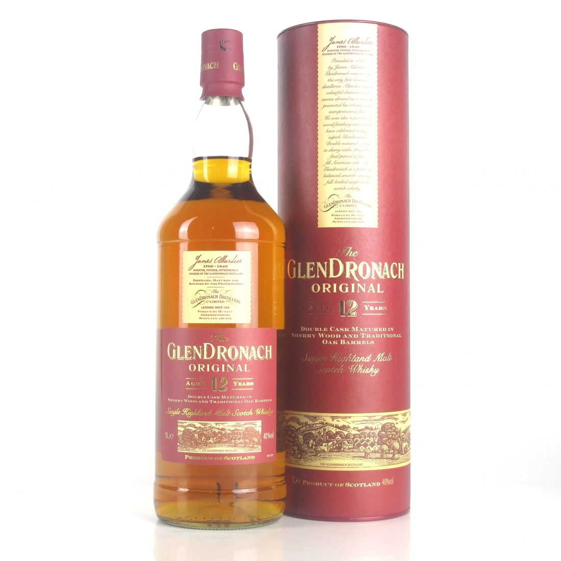 Glendronach 12 Year Old 1 Litre