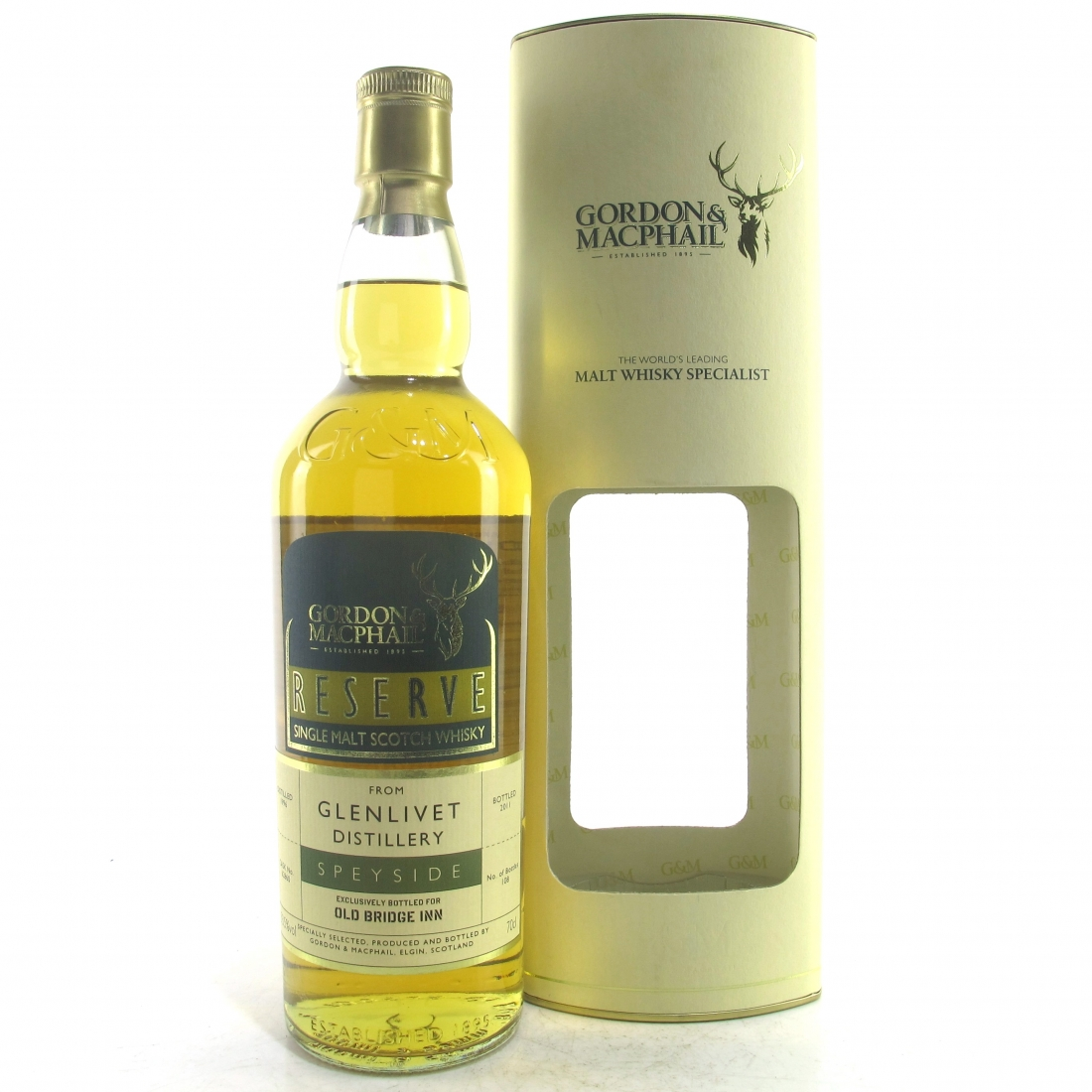 Glenlivet 1996 Gordon and MacPhail / Old Bridge Inn
