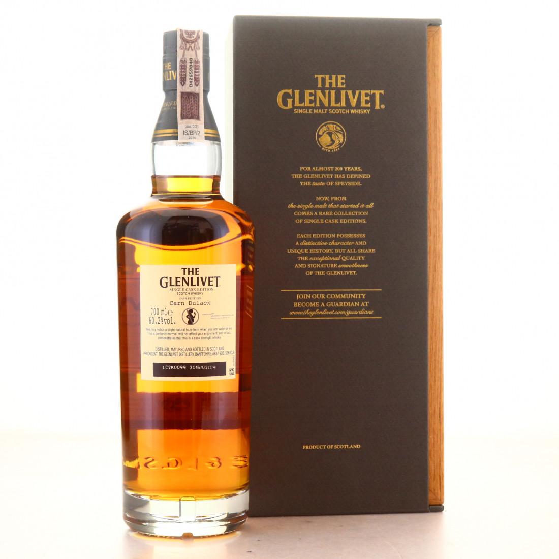 Glenlivet 14 Year Old Single Cask #5230 / Carn Dulack