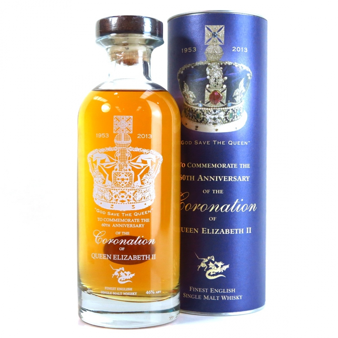 English Whisky Co 60th Anniversary of Queen Elizabeth II Coronation