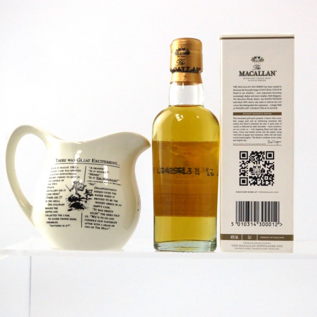 Macallan Gold Miniature 5cl / Including Jug