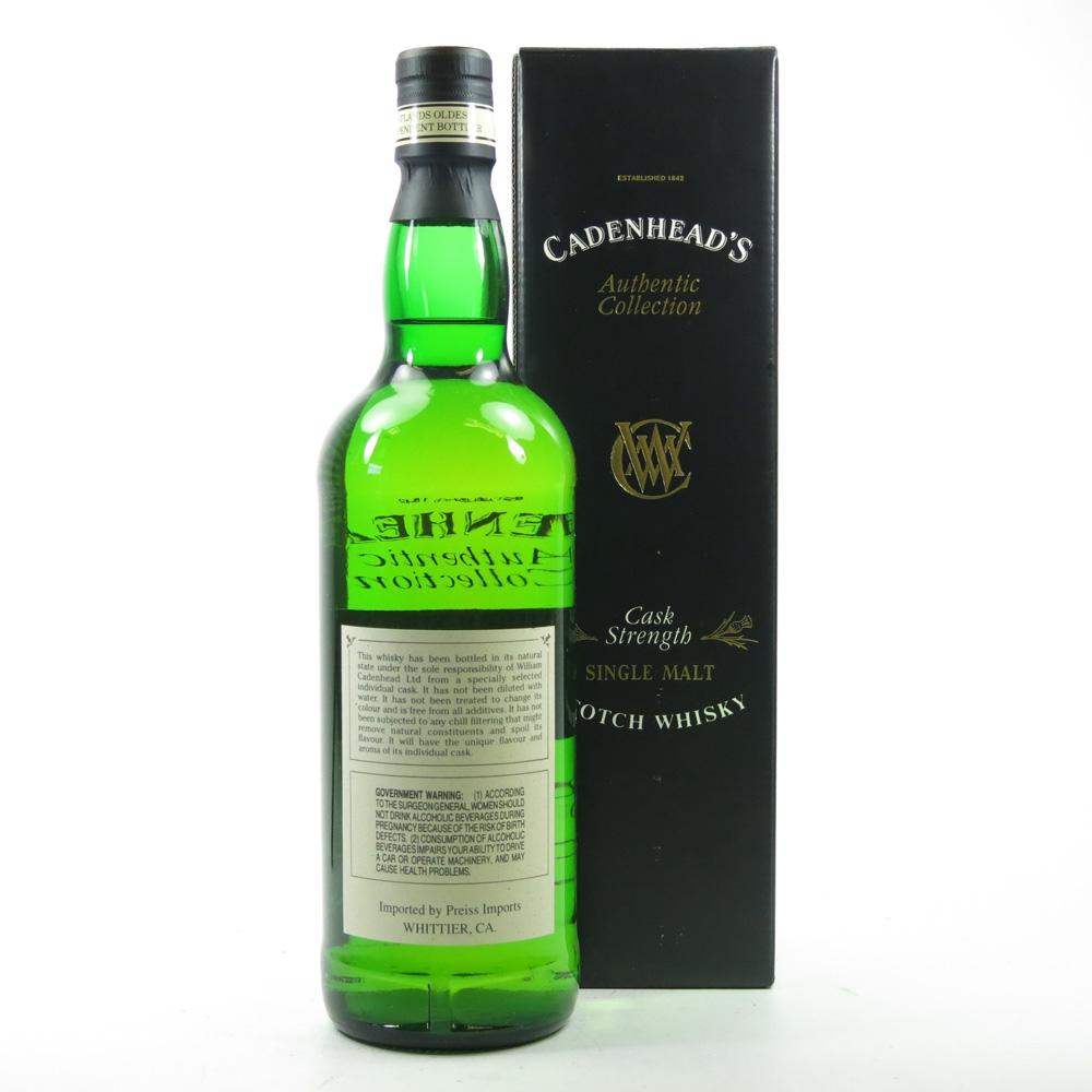 Craigellachie 1980 Cadenhead's 16 Year Old