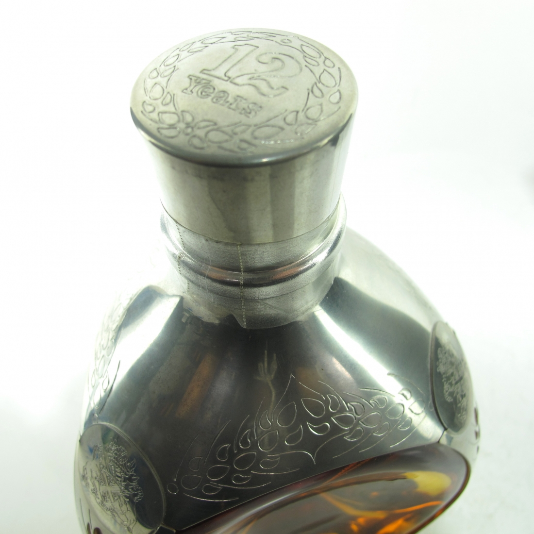 Haig's Dimple 12 Year Old Royal Pewter Decanter 1980s