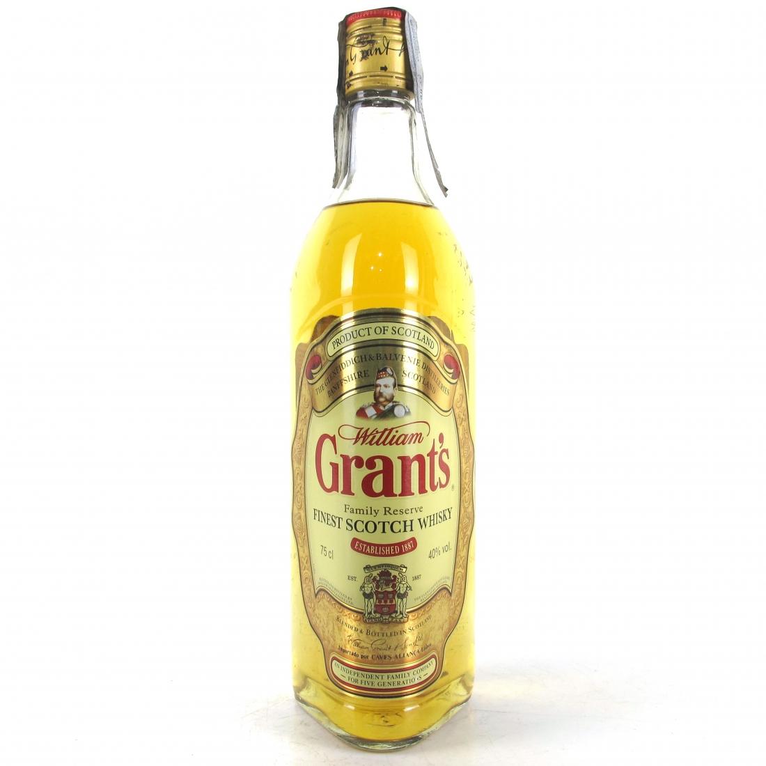 Grant's Finest Scotch Whisky 1980s