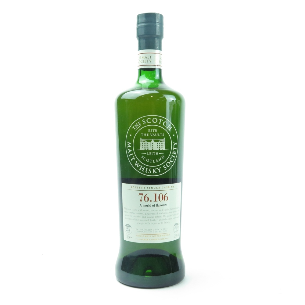 Mortlach 1987 SMWS 25 Year Old 76.106