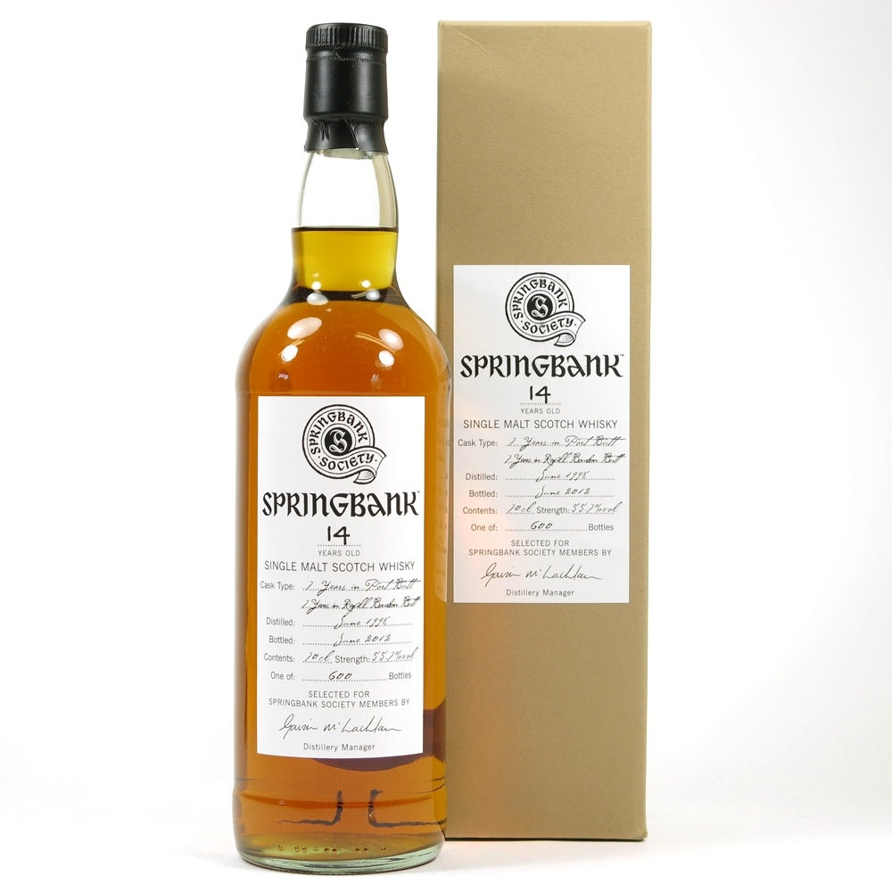 Springbank 1998 Port Butt 14 Year Old Front