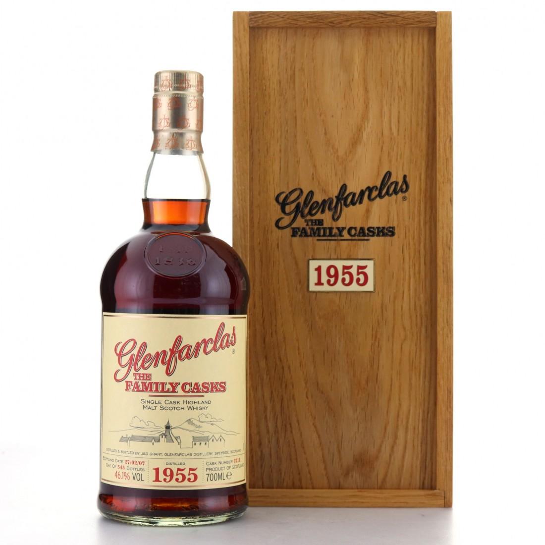 Glenfarclas 1955 Family Cask #2211