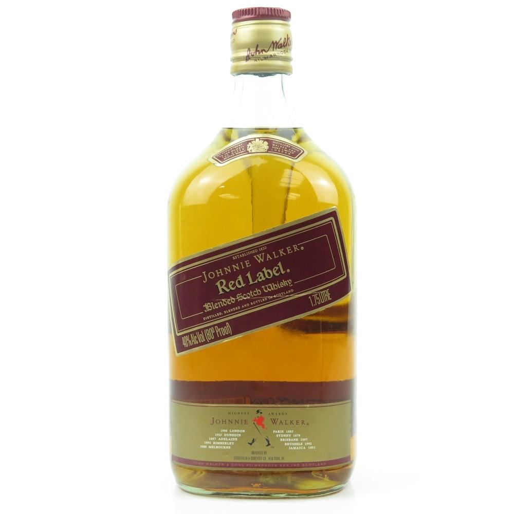 Johnnie Walker Red Label 1.75 Litre US Import