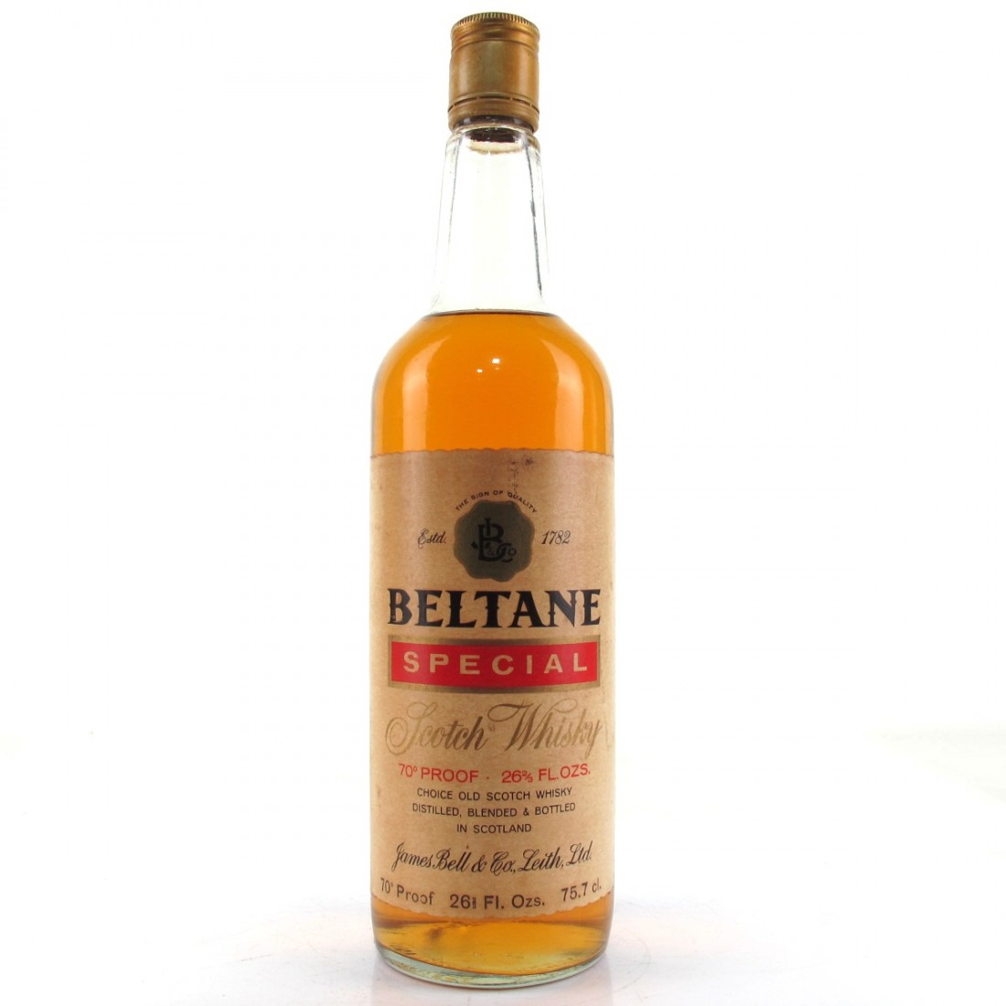 Beltane Special Scotch Whisky 1970s