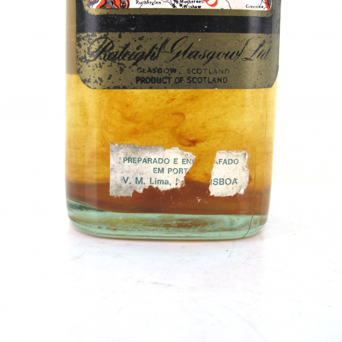 Sir Walter Raleigh Blended Scotch Whisky 1970s