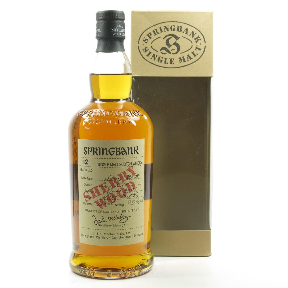 Springbank 1990 12 Year Old Sherry Wood