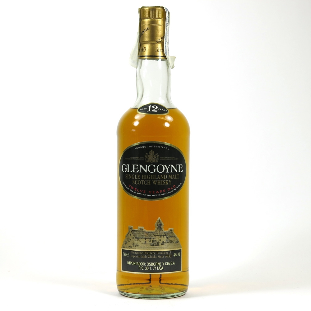 Glengoyne 12 Year Old 1990s Front