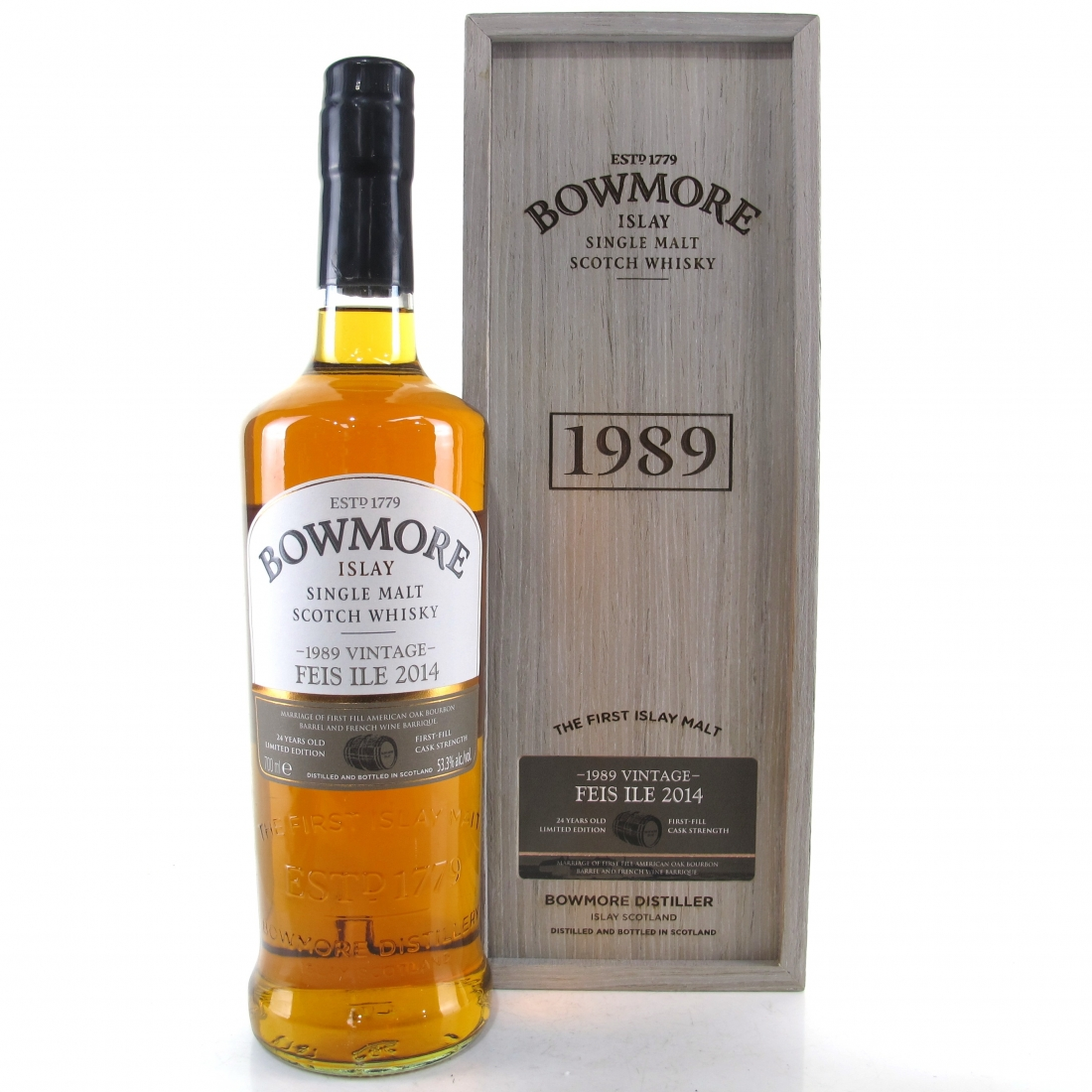 Bowmore 1989 24 Year Old Feis Ile 2014