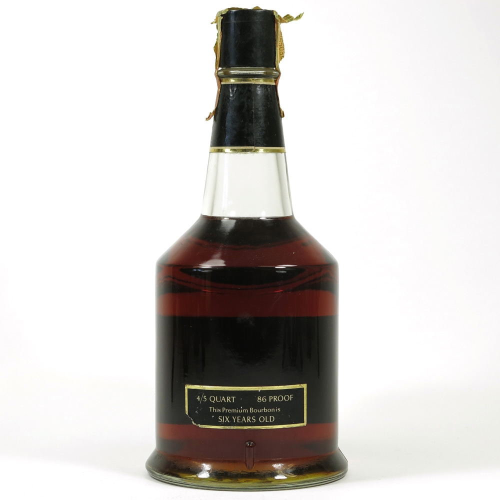 Benchmark 6 Year Old Kentucky Bourbon Back