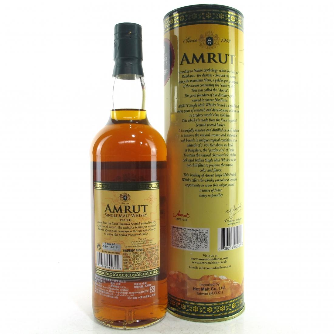 Amrut Peated 75cl / US Import