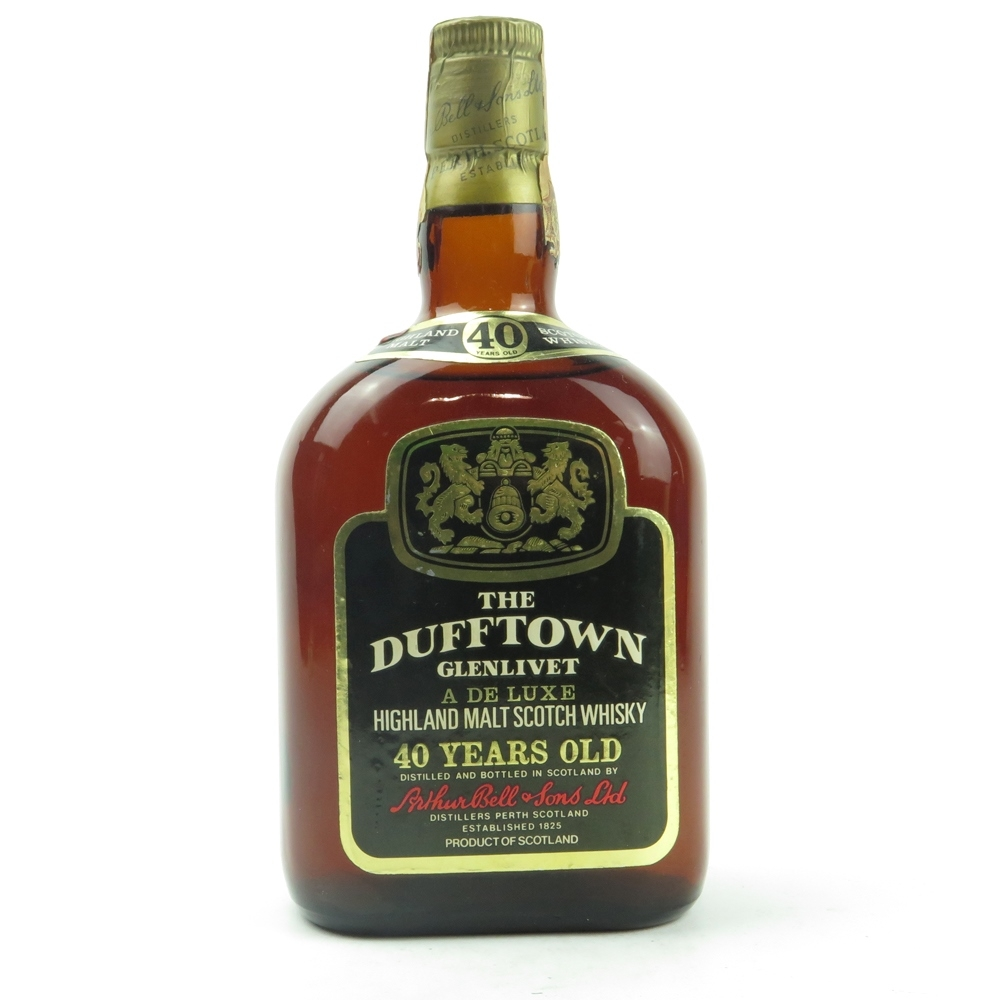 Dufftown 40 Year Old 1970s