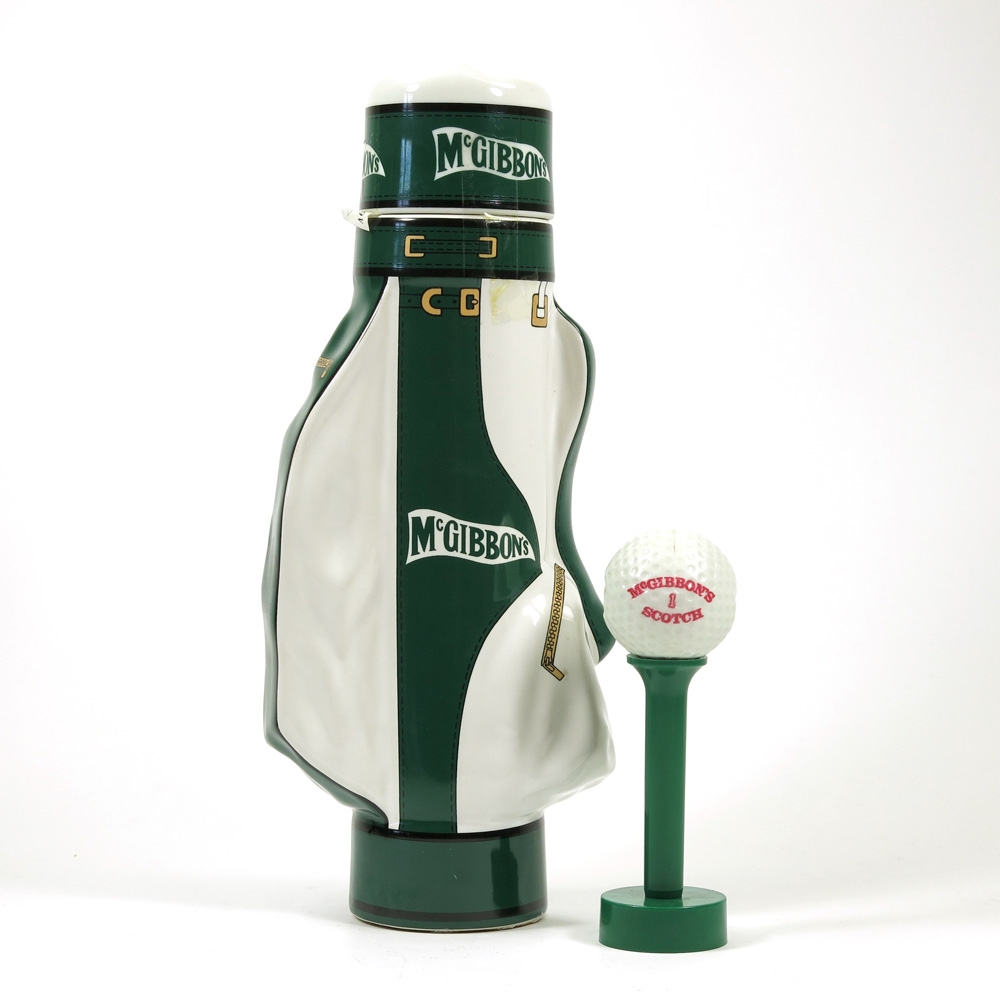 McGibbon's Premium Reserve Blend Golf Bag / Including Tee & Ball Corkscrew Front