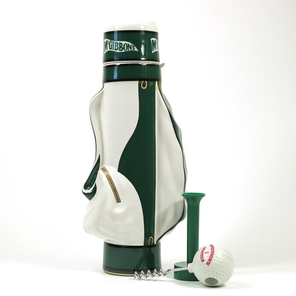 McGibbon's Premium Reserve Blend Golf Bag / Including Tee & Ball Corkscrew Back