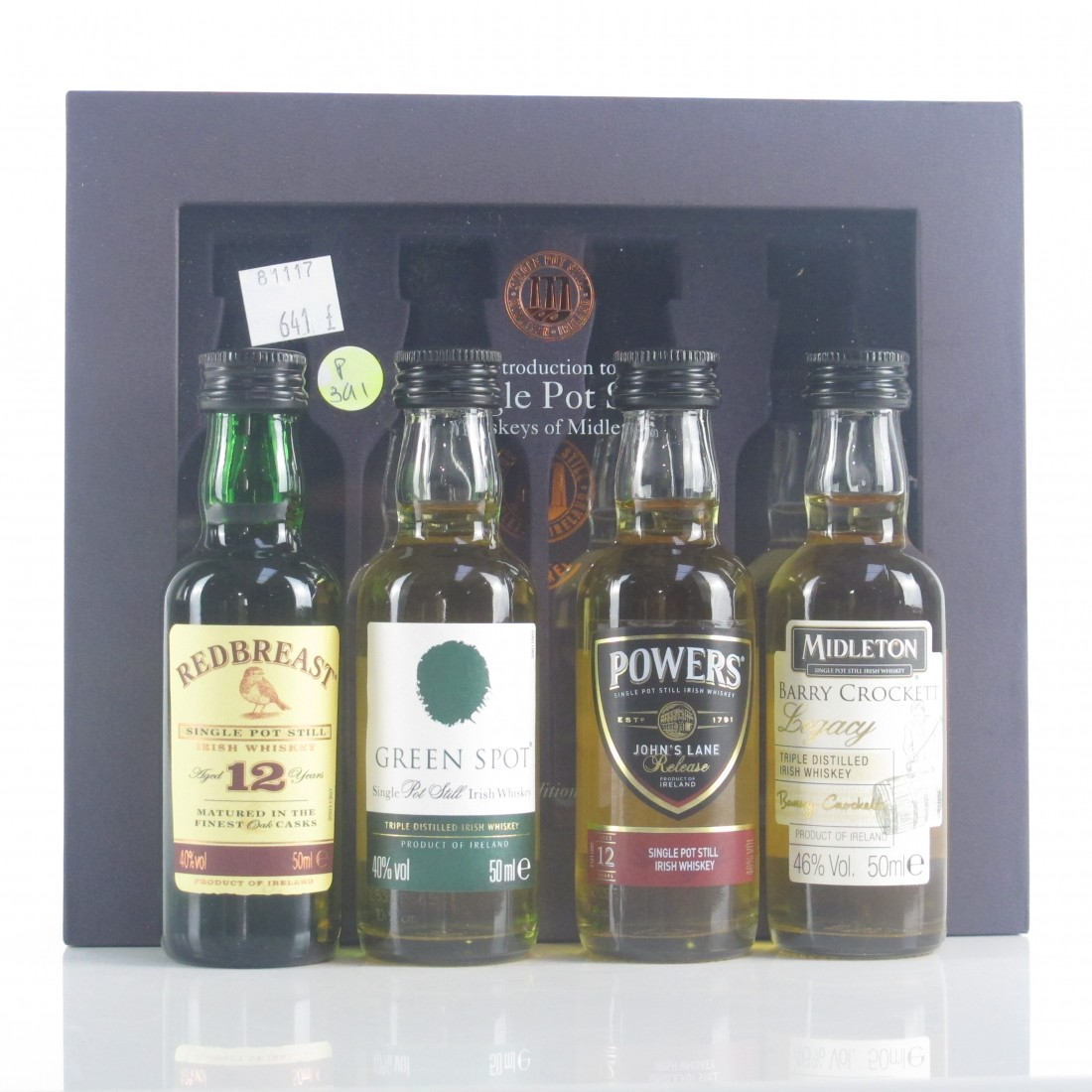 Midleton 'An Introduction to Single Pot Still Whiskeys of' Miniatures 4 x 5cl
