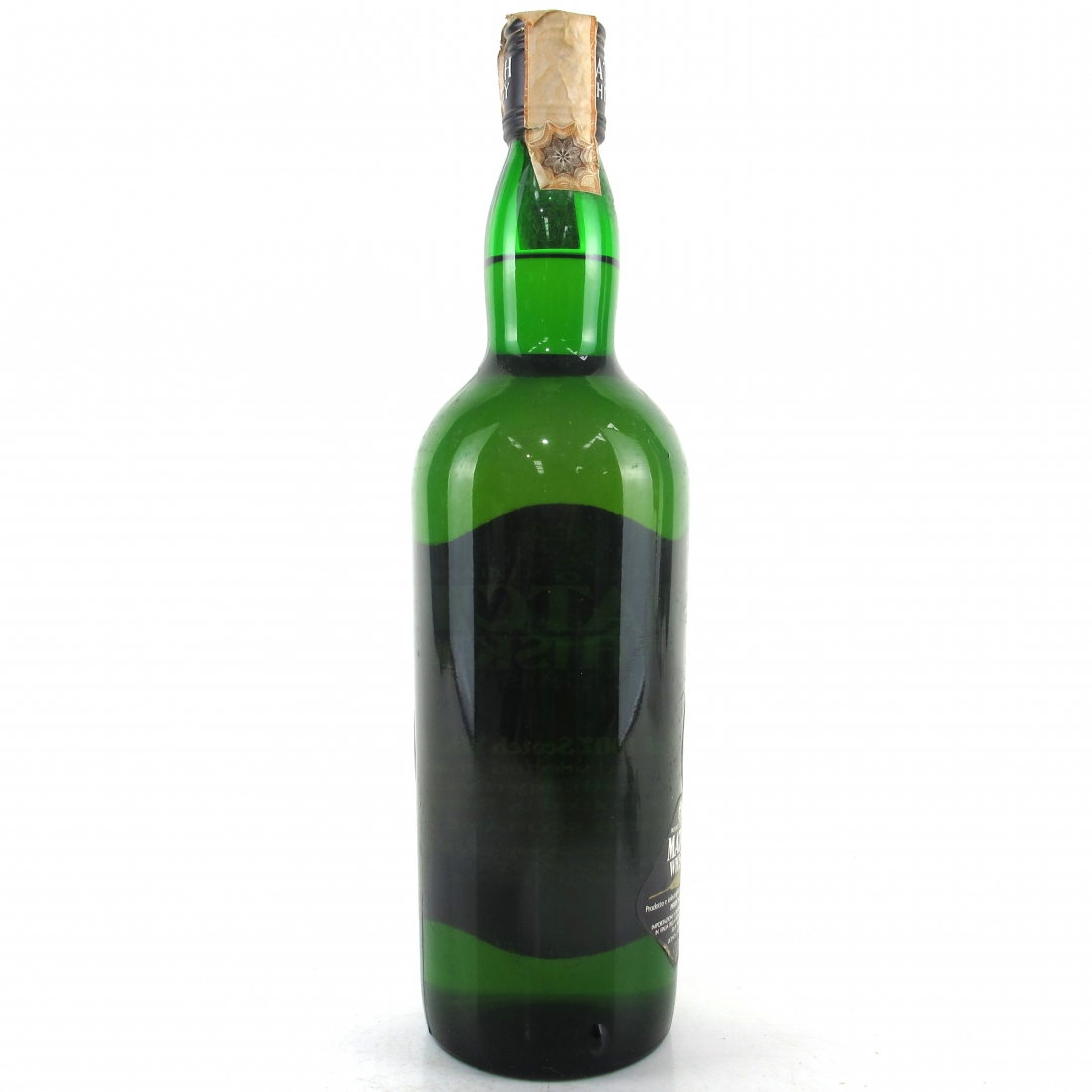 Match 8 Year Old Scotch Whisky 1970s / Branca Import