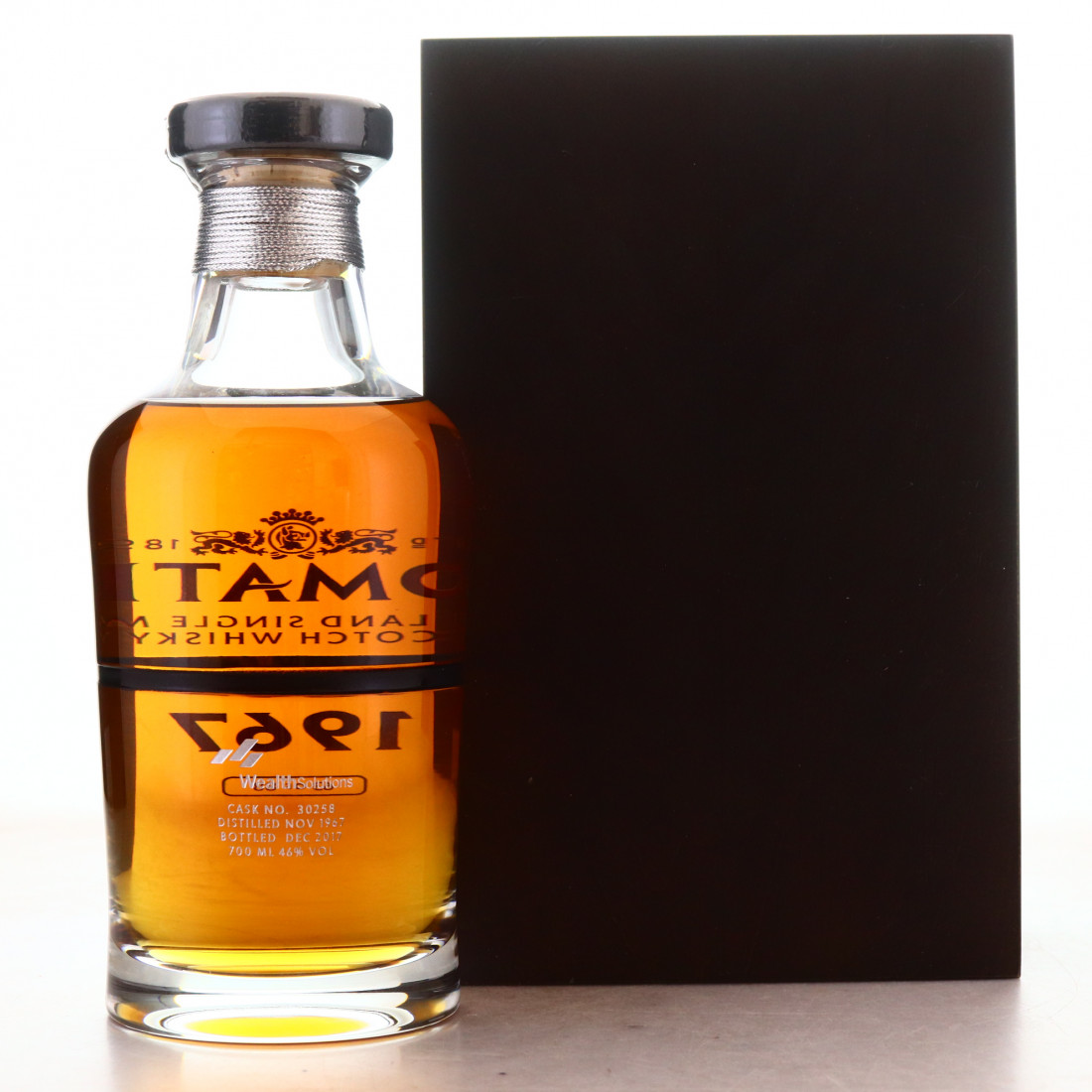 Tomatin 1967 Single Cask 50 Year Old 'Black' / Wealth Solutions