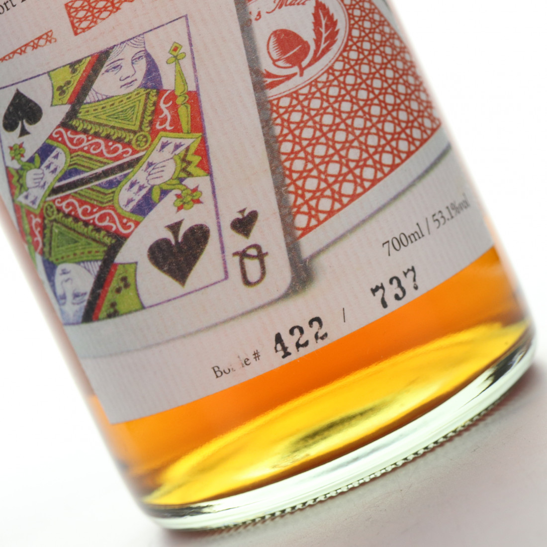 Hanyu 1990 Ichiro's Malt 'Card' #466 / Queen of Spades