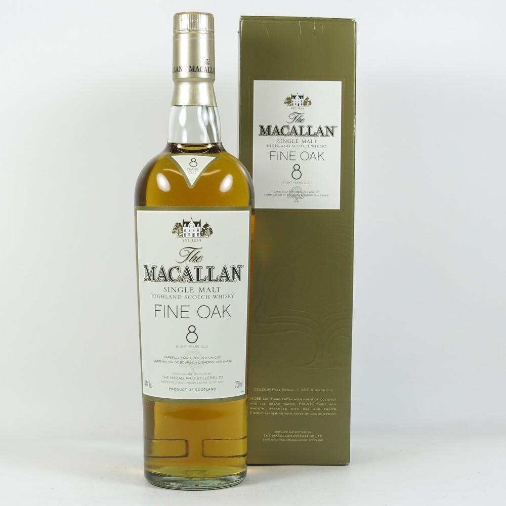 Macallan 8 Year Old Fine Oak Front