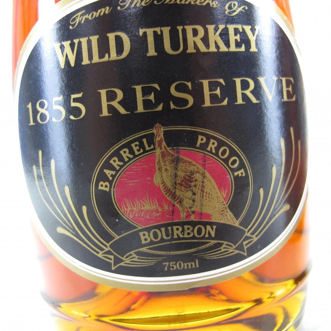 Wild Turkey '1855' Reserve 75cl & 37.5cl