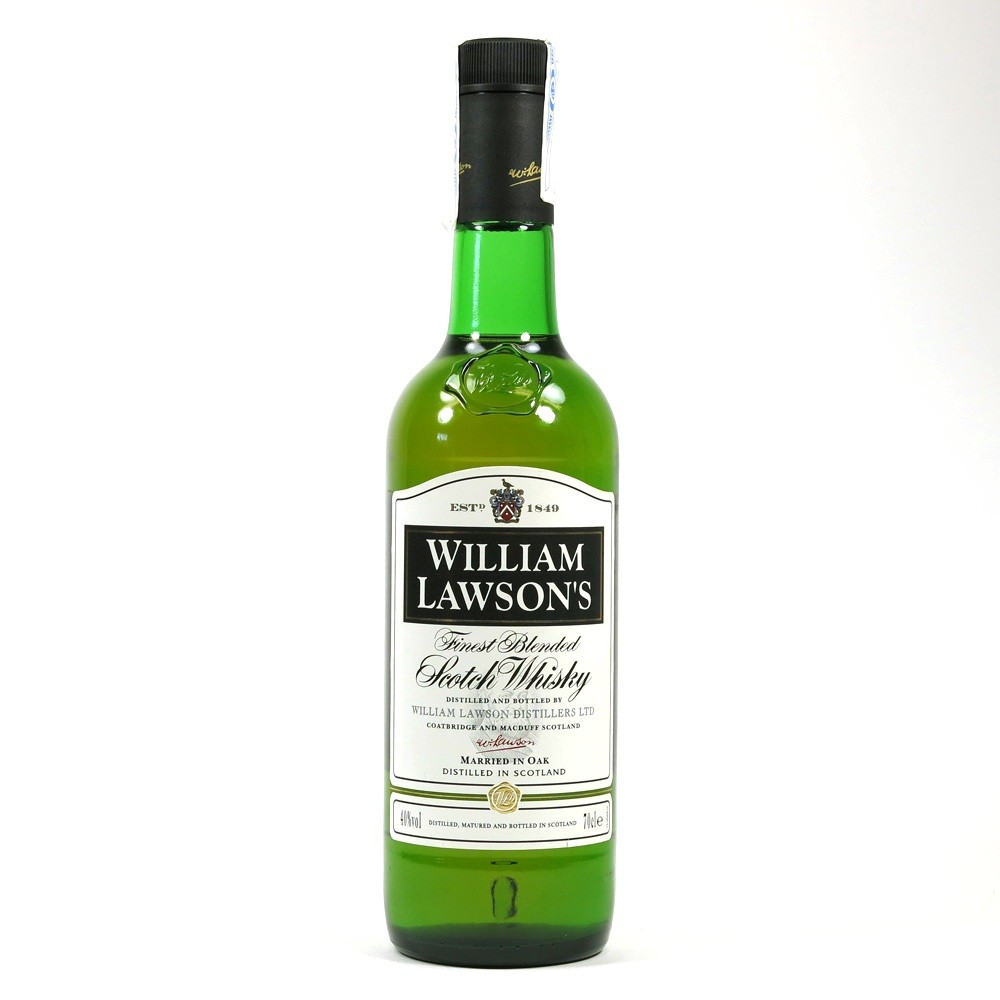 William Lawson's Finest Blended Whisky 1990s Front