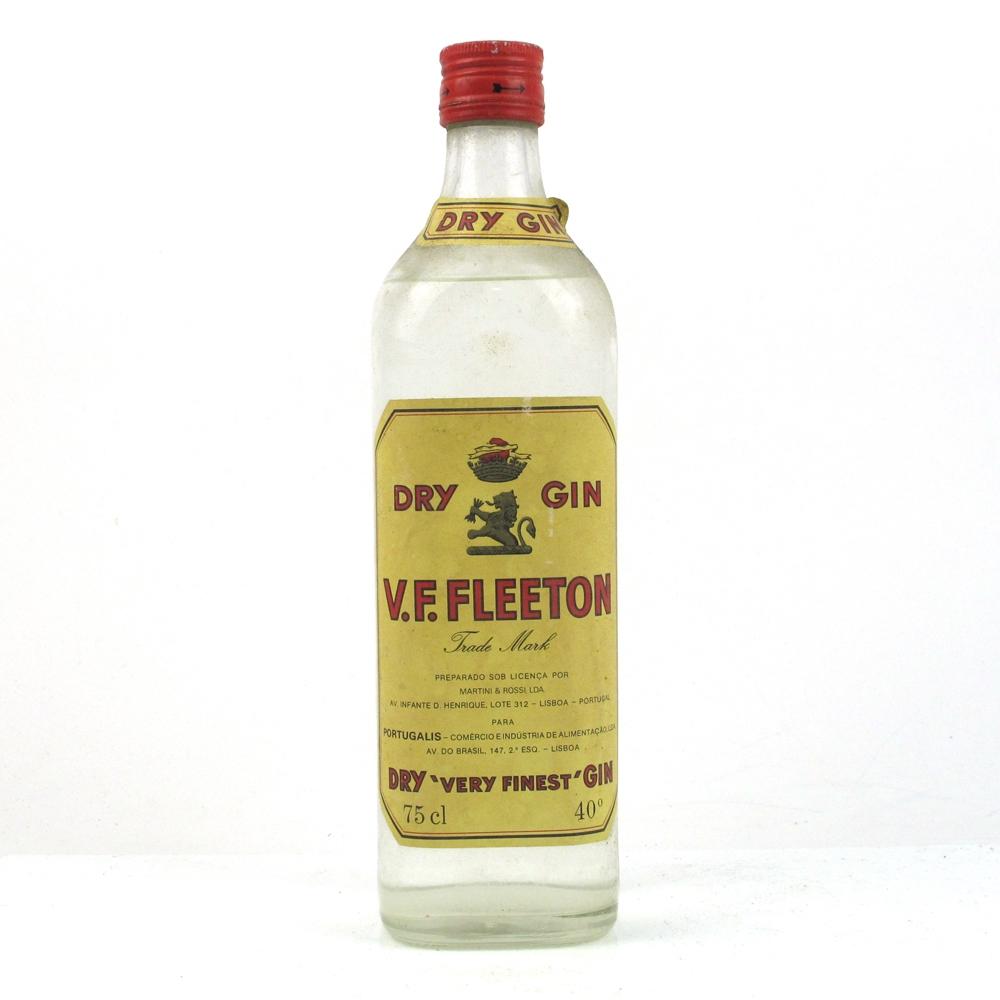 V.F.Fleeton Dry Gin 1970s