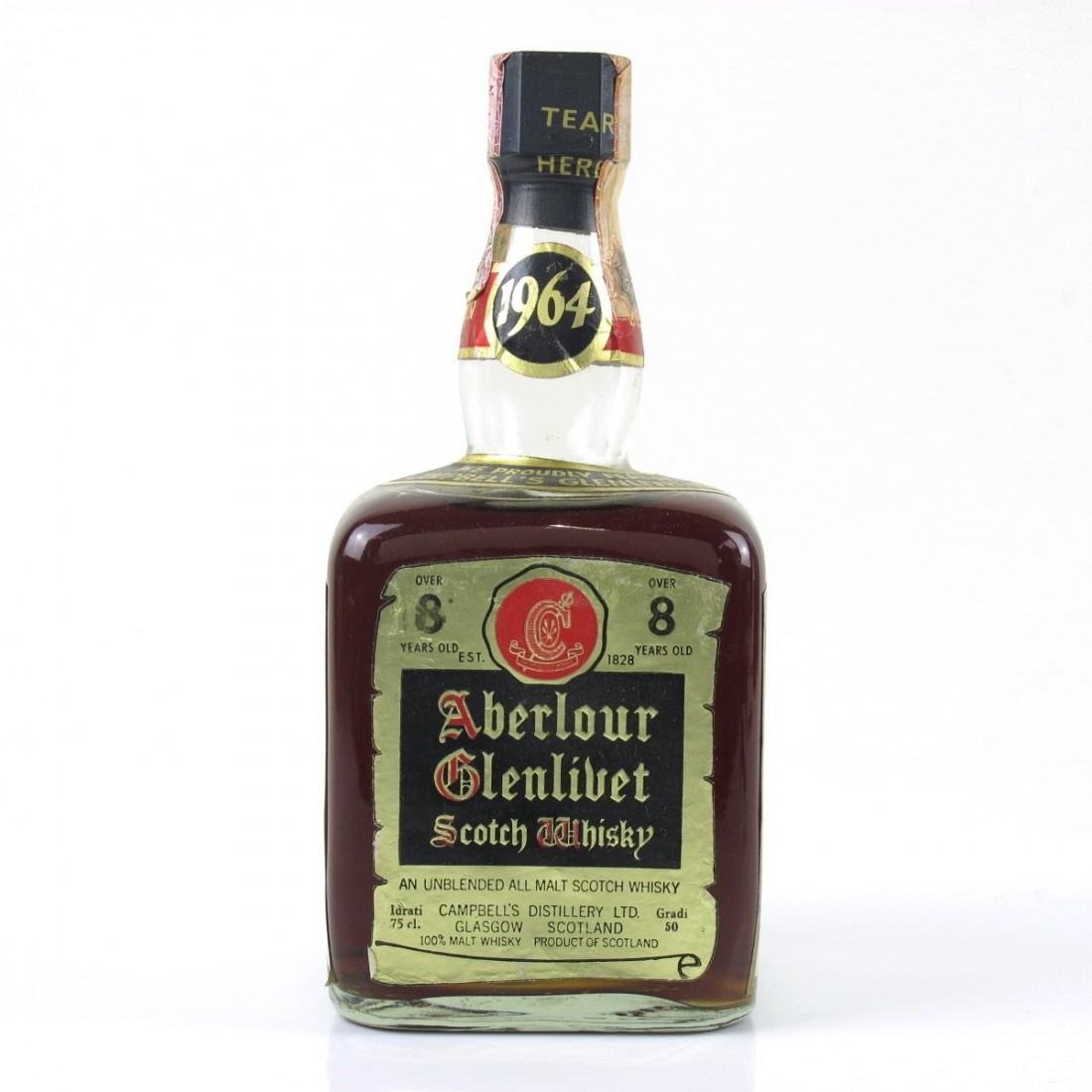 Aberlour - Glenlivet 1964 Over 8 Year Old