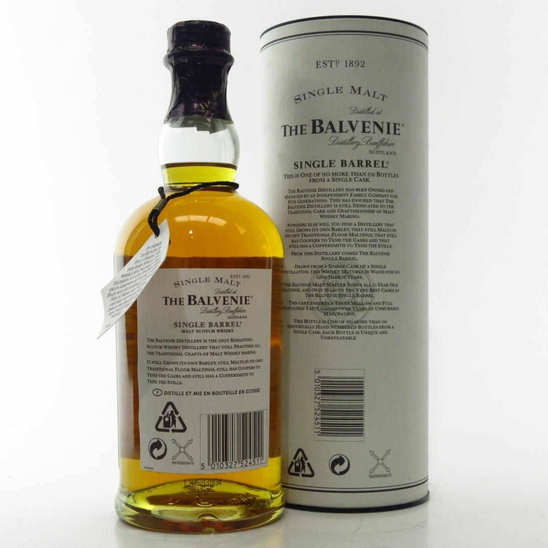 Balvenie 1974 Single Barrel 25 Year Old #14992