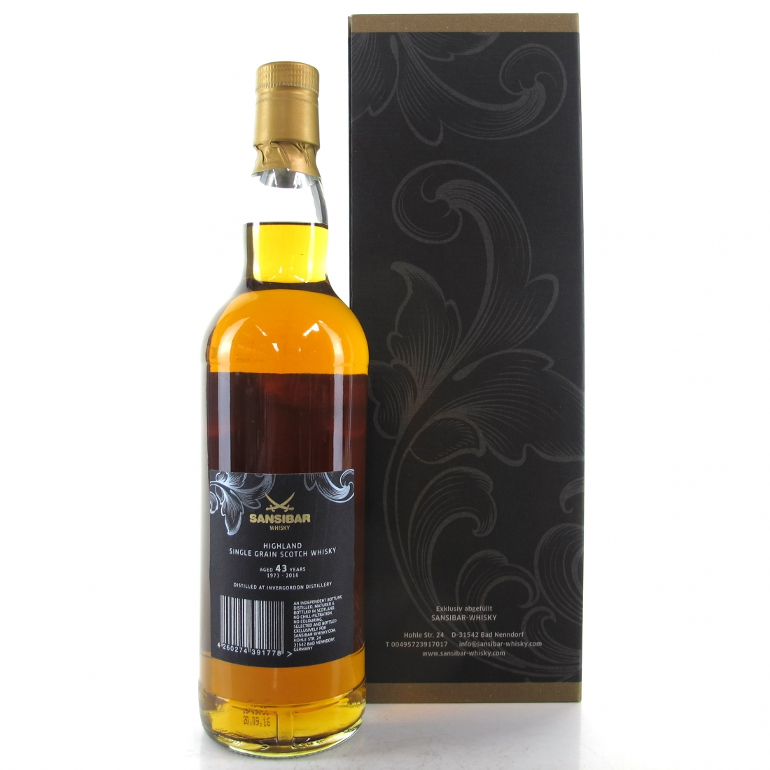 Invergordon 1973 Sansibar 43 Year Old