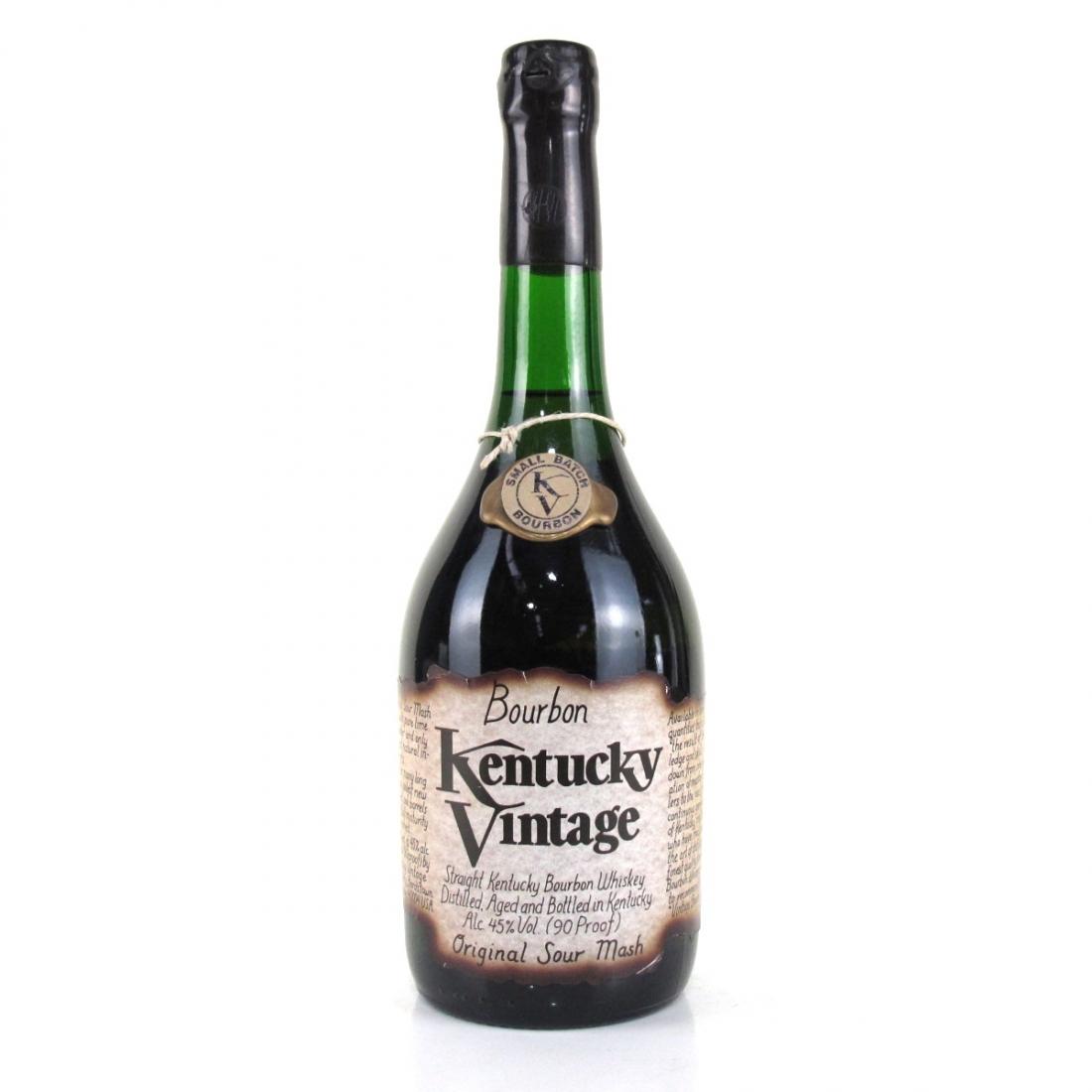 Kentucky Vintage Small Batch Bourbon