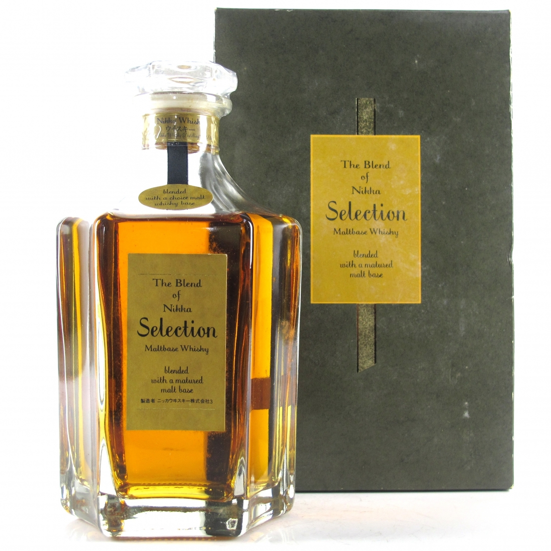 The Blend of Nikka Maltbase Whisky 66cl