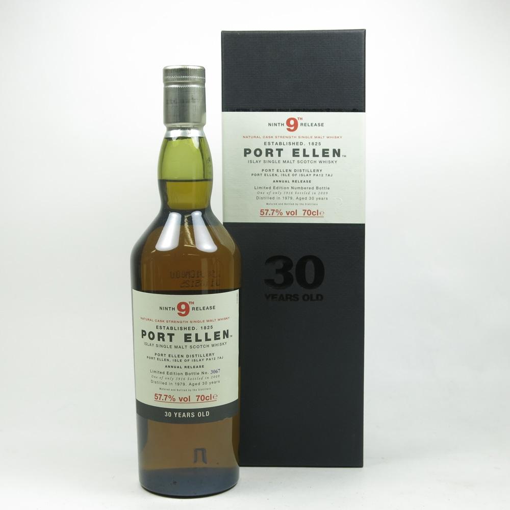 Port Ellen 1979 30 Year Old 9th Release Front