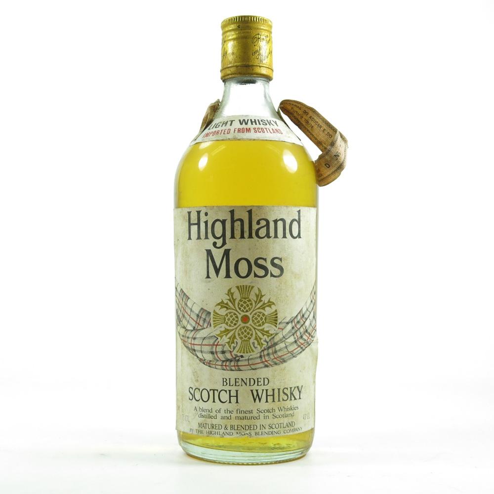 Highland Moss Blended Scotch Whisky 1960s