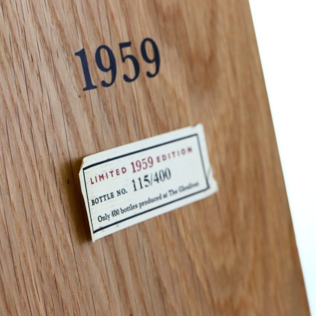 Glenlivet 1959 Cellar Collection