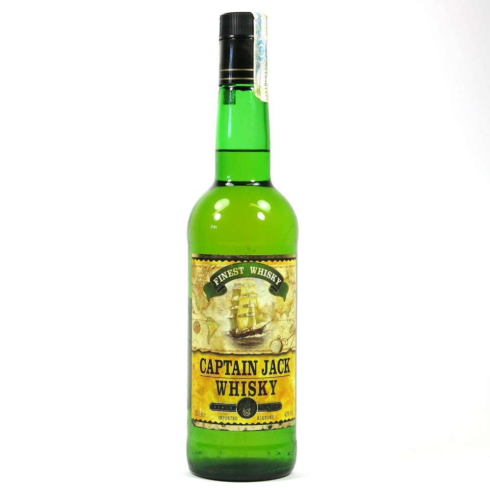 Captain Jack Finest Whisky Front
