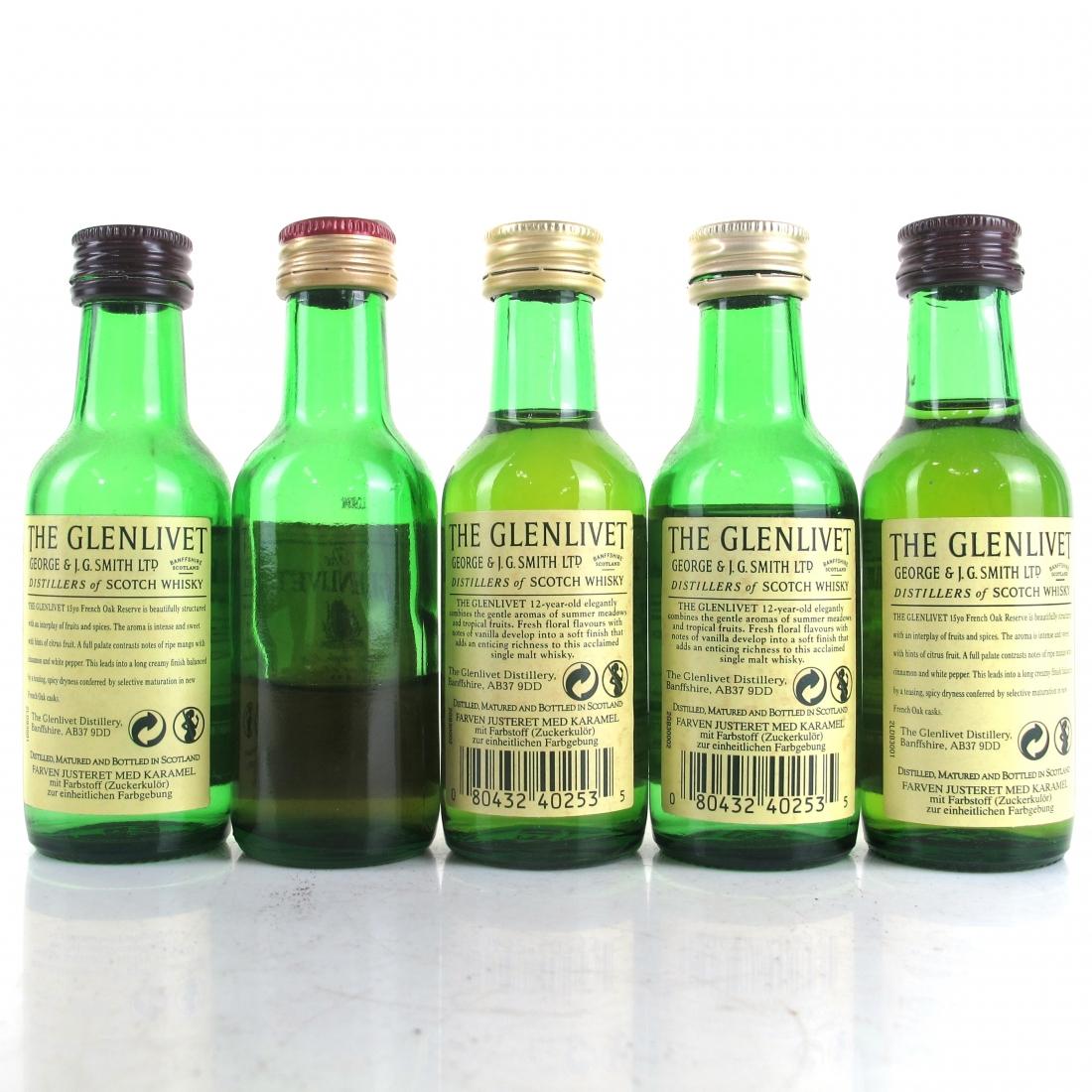 Glenlivet Miniature Selection 5 x 5cl