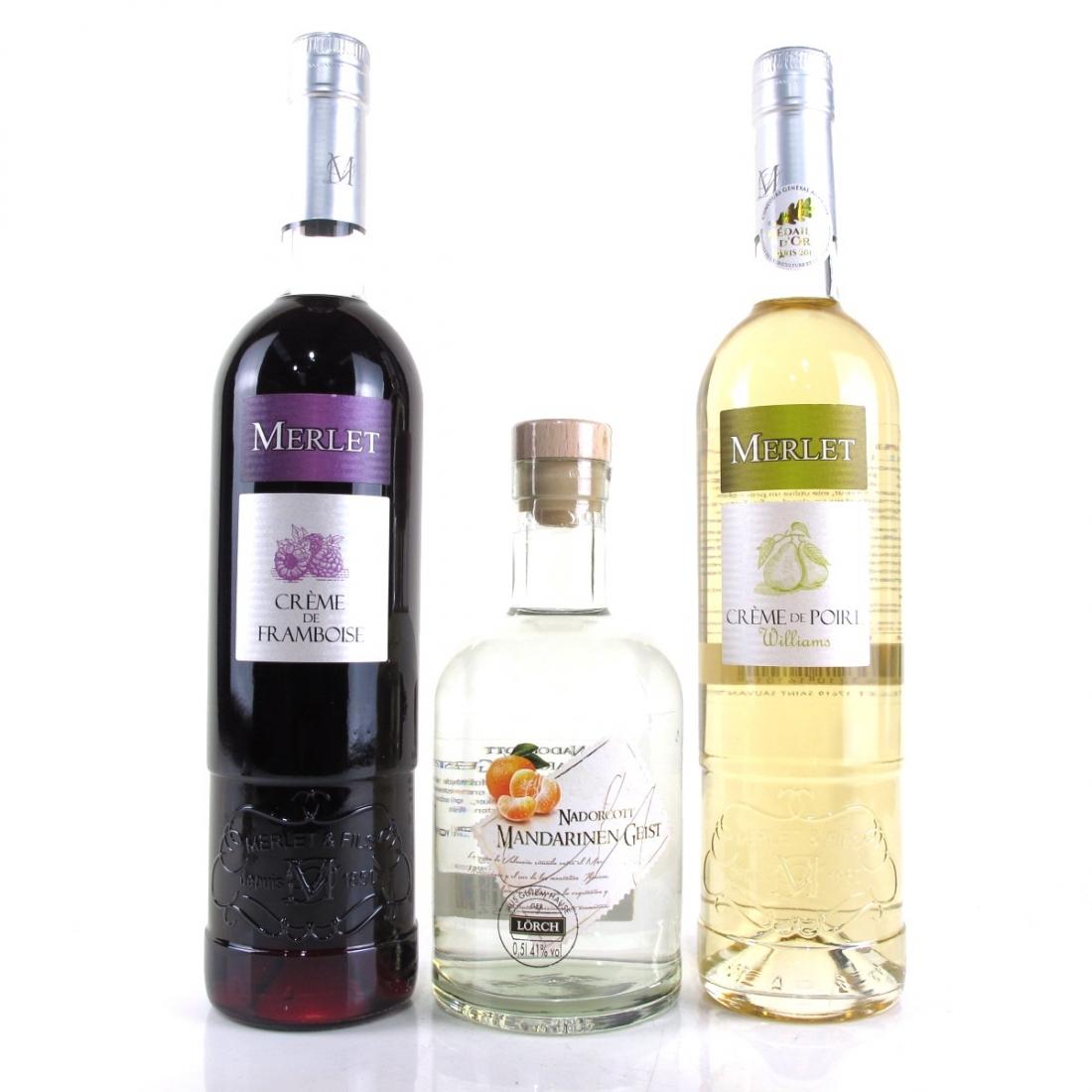Miscellaneous Fruit Liqueurs 2 x 70cl, 1 x 50cl