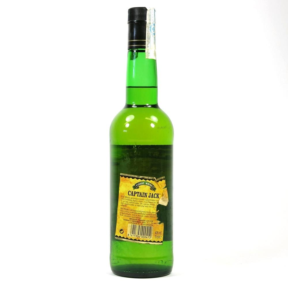 Captain Jack Finest Whisky Back
