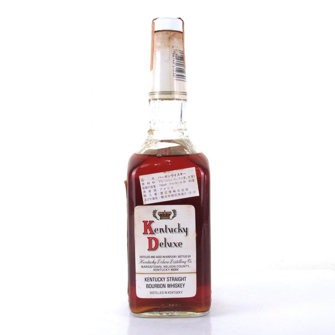 Kentucky Deluxe 12 Year Old Kentucky Bourbon