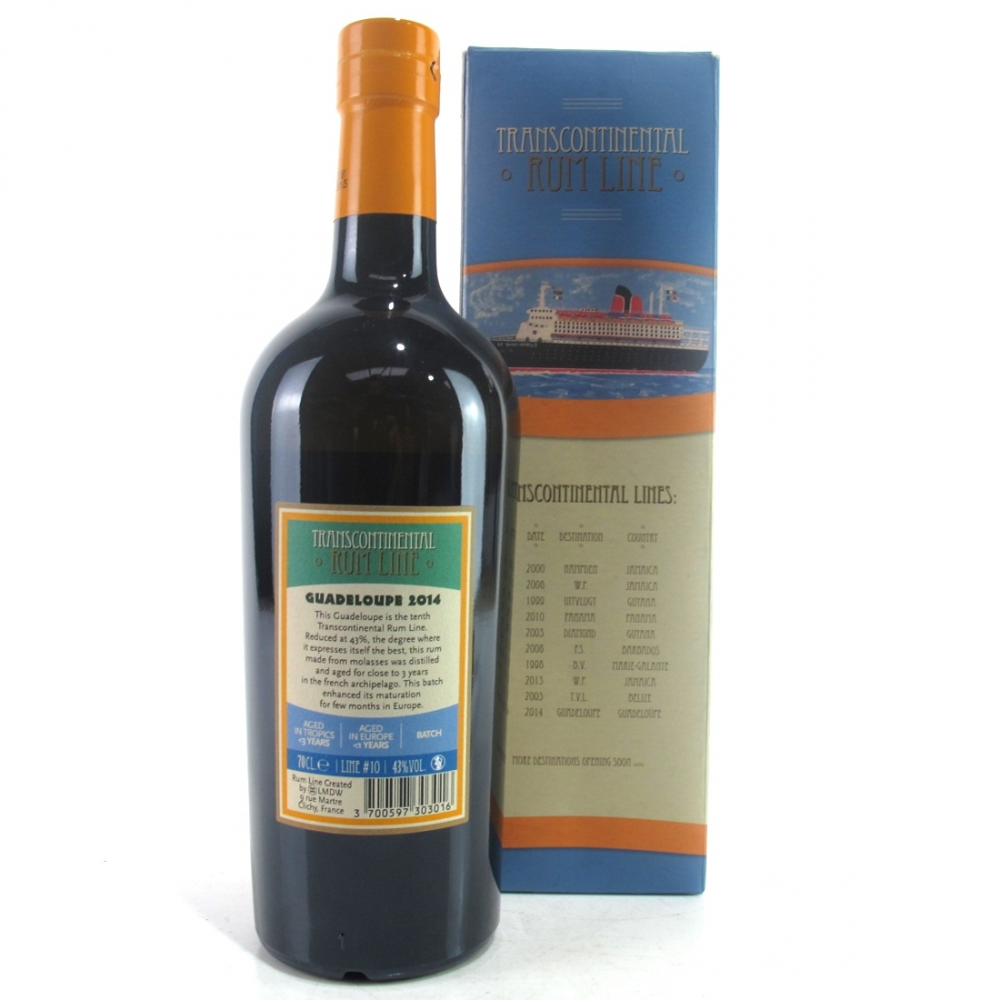 Guadeloupe 2014 Transcontinental Rum Line / LMDW