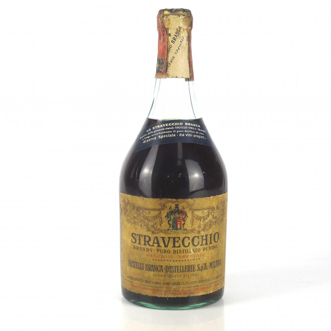 Fratelli Branca Stravecchio Brandy Riserva Speciale 1950s