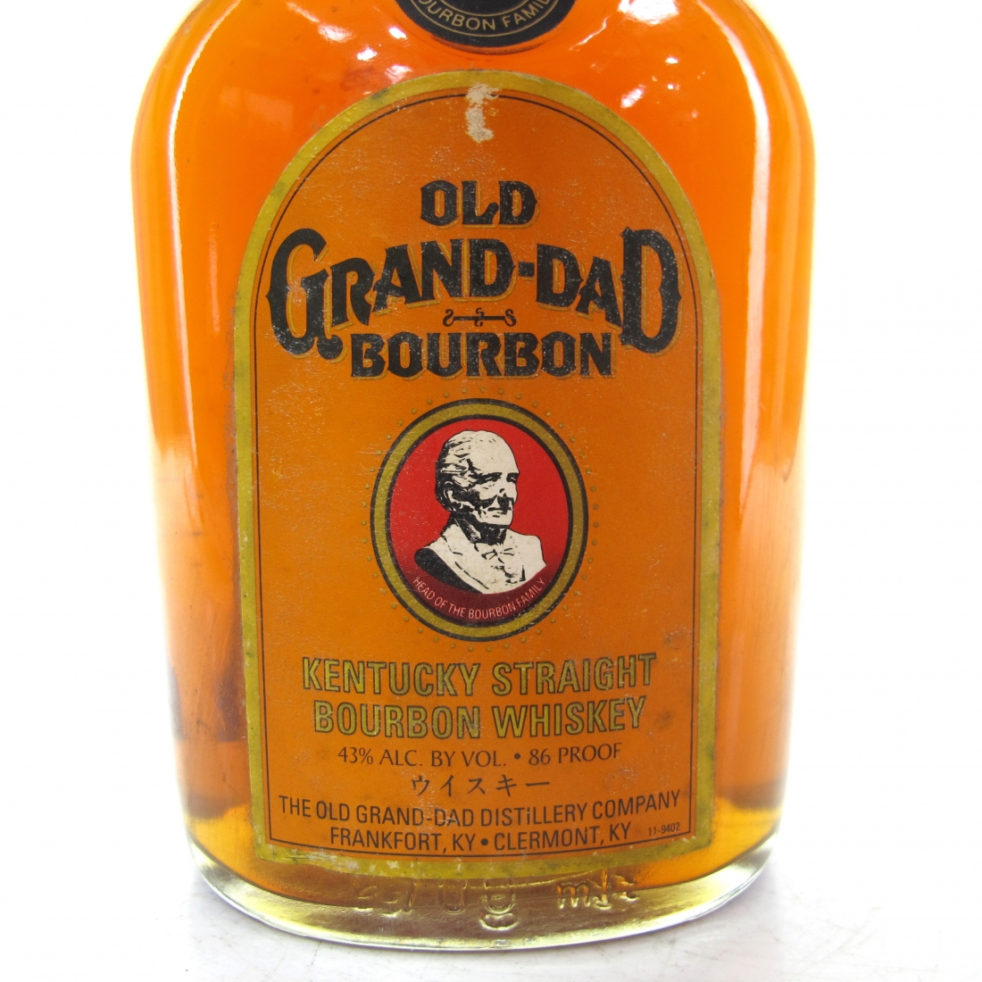 Old Grand-Dad Kentucky Straight Bourbon 1990s / Japanese Import