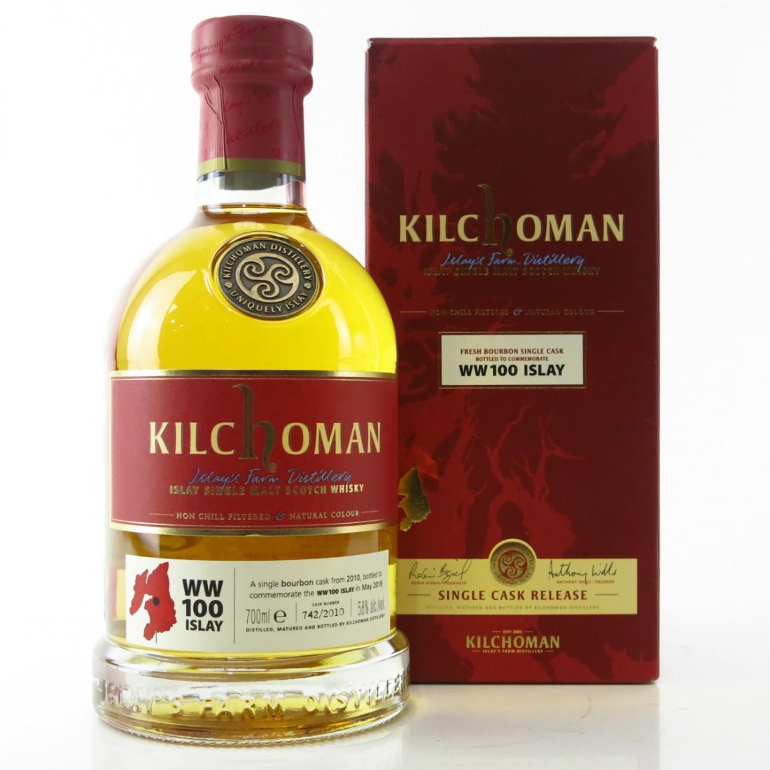 Kilchoman 2010 Single Cask #742 / WW100 Islay