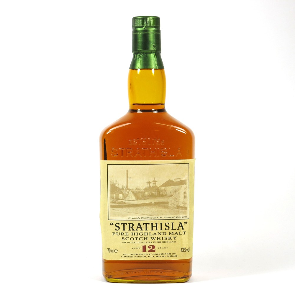 Strathisla 12 Year Old 1990s Front