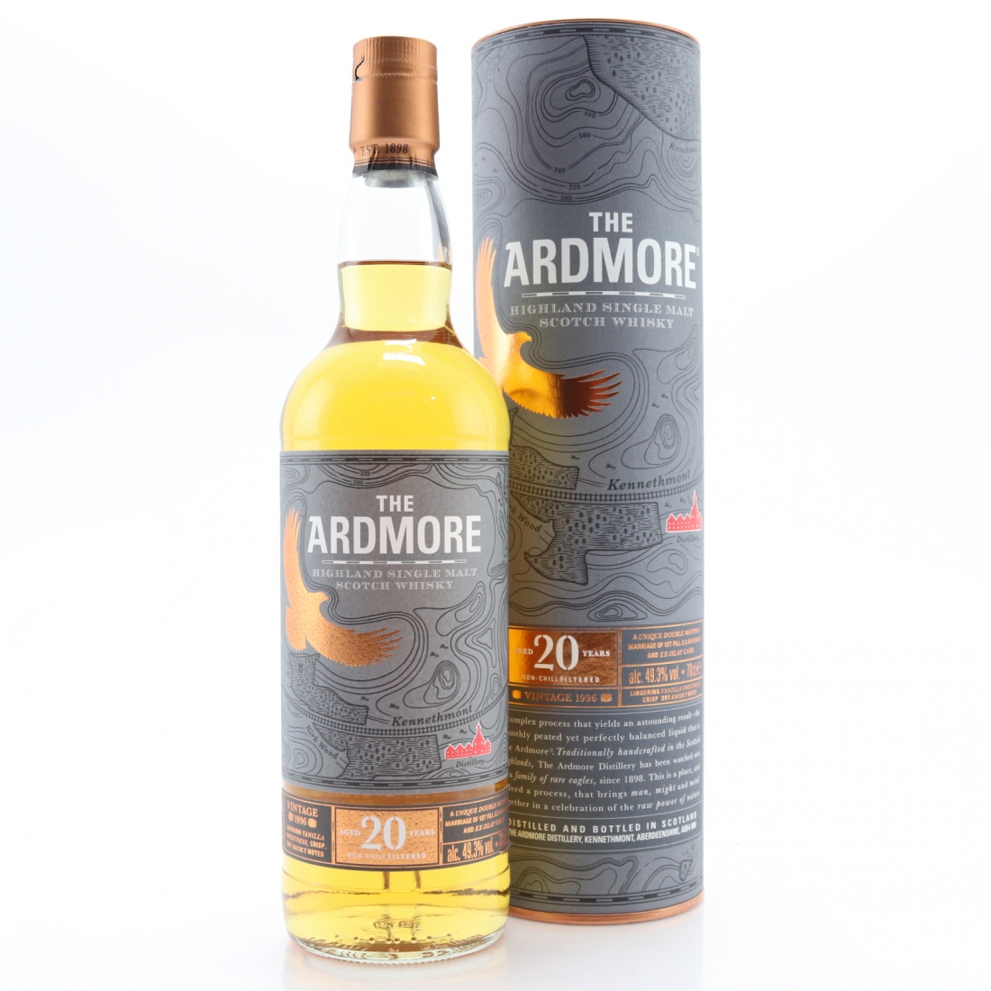 Ardmore 1996 20 Year Old / Bourbon and Islay Cask